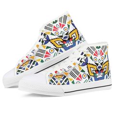 Moetlo Ndebele Fabric Low Top Shoe – Africanstylesforladies - African Styles for Ladies Dashiki Fabric, White Canvas Shoes, African Design, African Fabric, Ankara Styles, Blue Fabric, Top Shoes, Contemporary Fashion, Skirt Fashion