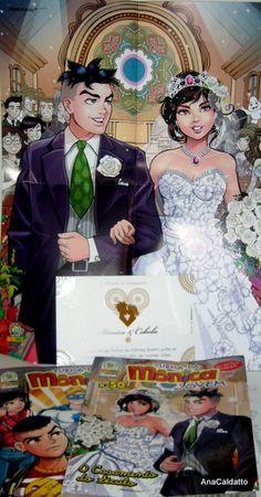 Casamento Mônica e Cebolinha