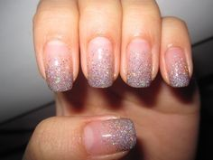 sparkle ombre nails QJ6zVOKT