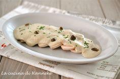 Petto di pollo tonnato | ricetta leggera
