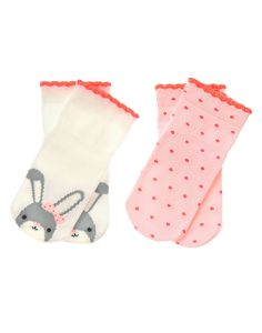 Bunny Socks Two-Pack at Gymboree