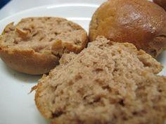 Brötchen mit Kastanienmehl  -glutenfrei- - Frühstück, Zwischendurch - 1 Prise Salz, 100 g Kastanienmehl, 3 TL Backpulver, 150 ml Buttermilch, 50 g weiche Butter, 50 g Buchweizenmehl, 50 g Kartoffelmehl