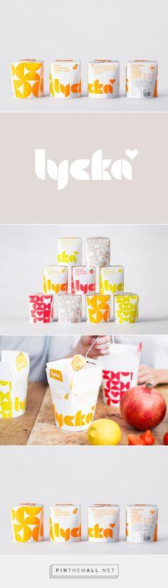 Lycka / natural frozen yogurt by BVD