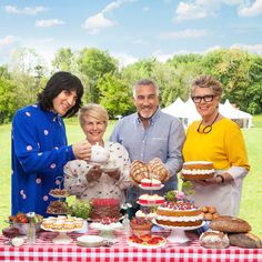 The best ever Great British Bake Off recipes - Recipes British Baking Show Recipes, British Bake Off Recipes, Baking Recipes, British Desserts, Uk Recipes, Scottish Recipes, Copycat Recipes, Potato Recipes, Recipies