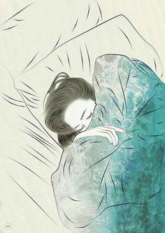 Con thường thức tới 3h sáng để nhâm nhi nỗi buồn, nó như liều thuốc độc nhưng giúp con mạnh mẽ, trưởng thành trầm tính và ít cười hơn. Nhưng con không biết như vậy có tốt không vì con luôn ở trạng thái nặng nề trong lòng và liên tục suy nghĩ