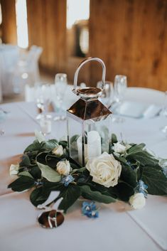 Lux & Union is a creative floral design studio based in Charleston, SC., specializing in wedding and special event floral work. Lantern Centerpieces, Lanterns, Charleston, Special Events, Floral Design, Table Decorations, Creative, Blue, Wedding