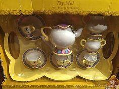 Disney Beauty and the Beast tea playset