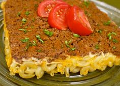 """Turn dinner """"upside down"""" with this recipe for """"Upside Down Mac and Cheese Hamburger Casserole!"""""""
