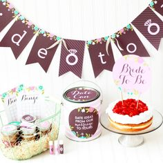 Bridal Shower Printables 1