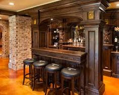 western saloon bar old west saloon bar designed bar ideas pinterest western saloon. Black Bedroom Furniture Sets. Home Design Ideas