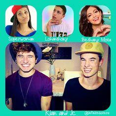 My favorite Youtubers (: