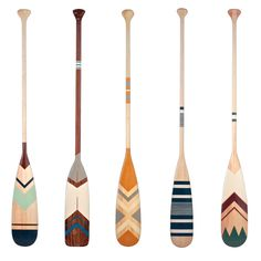 Master Boat Builder with 31 Years of Experience Finally Releases Archive Of 518 Illustrated, Step-By-Step Boat Plans Canoe Paddles, Canoe And Kayak, Beach House Style, Canoa Kayak, Painted Oars, Oar Decor, Wooden Paddle, Paddle Boat, My Pool