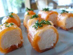 roulés saumon st moret