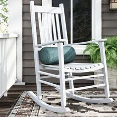 Outdoor Rocking Chairs for your patio! We have plenty of rocking chairs for your porch, balcony, or patio. Rocking chairs are beautiful and wonderful for your home.