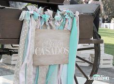 www.kamalion.com.mx - Decoración / Vintage / Rustic / Mint & Pink / Menta & Rosa / Decor / Wedding / Boda / Recién Casados.