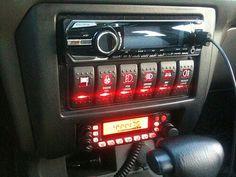 Nice Rocker switch setup Jeep Mods, Truck Mods, Car Mods, Jeep Cherokee Xj, Jeep Xj, Chevrolet Blazer, Chevy, Custom Trucks, Custom Cars