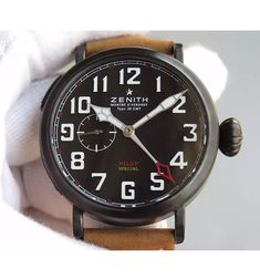 Zenith Pilot Type 20 GMT 1903 Black Dial