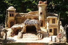 Klicken zum Schliessen Miniature Trees, Cribs, Nativity, House Styles, Portal, Pottery, Garden, Projects, Christmas Tree Crafts
