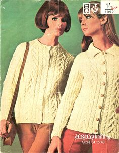 Just got a real hand knitted aran cardi for only 2euro50 in a charity shop :) excellent