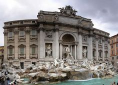 ROME with KIDS Trevi fountain Rome Italy