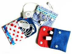 idea for ipod pouch:: seems very easy