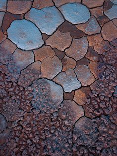 This gorgeous image of a cracked desert floor in taken in the Oregon Dessert reminds us of the long hot summer that we have ahead of us! Beautiful lines like these sourced straight from nature were also the inspiration behind our Spricka Leather Sandal. Beautiful Lines, Beautiful Textures, Patterns In Nature, Textures Patterns, Wallpaper Texture, Foto Nature, Art Grunge, Dame Nature, Foto Art