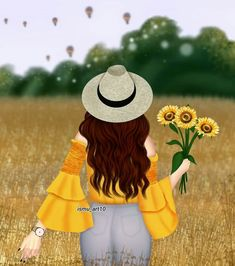 Image may contain: 1 person, standing, flower, text and outdoor Beautiful Girl Drawing, Cute Girl Drawing, Cartoon Girl Drawing, Cartoon Girl Images, Cute Cartoon Girl, Cute Girl Wallpaper, Cute Disney Wallpaper, Mode Poster, Girly M