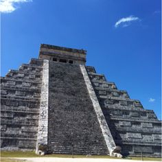 Mayan temples. Progresso, Mexico Ancient ruins, historic city, incredible food, living history- perfect.