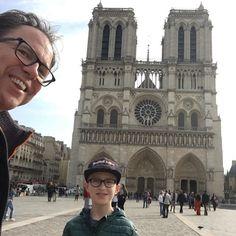 Met mijn grote vriend in Parijs (okt 2017)