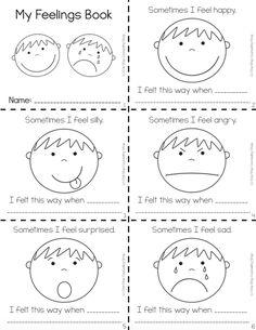 Feelings Complete Bundle Source by Feelings Preschool, Teaching Emotions, Emotions Activities, Social Emotional Learning, Preschool Lessons, Preschool Worksheets, Preschool Activities, Manners Preschool, Feelings Book