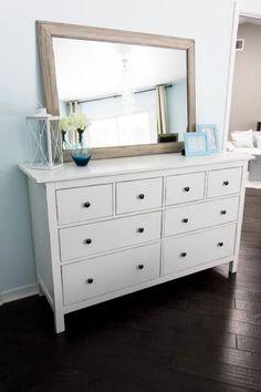 Ikea hemnes shoe cabinet round mirror good for dark for Camera hemnes ikea