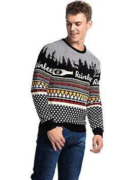 df3e63f84446 The perfect Unisex Men's Ugly Christmas Sweater Funny Novelty Xmas Pullover  Christmas Clothing. [$14.99 - 24.99] alltrendytop from top store