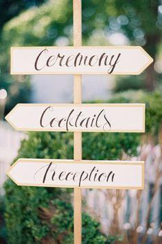 wedding directional signage, wedding ceremony sign, wedding reception sign, wedding signs #saphireeventgroup #weddingsigns