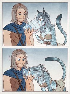 Thanks, I hate super fast Skyrim crossover! Comic Kunst, Comic Art, Furry Art, Character Inspiration, Character Art, Skyrim Funny, Skyrim Comic, Furry Meme, Art Mignon