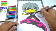 Luna Girl Drawing Coloring PJ Masks Characters Drawing Videos For Kids, Pj Mask, Play Doh, Coloring For Kids, Cartoon Characters, Kids Toys, Masks, Eggs, Make It Yourself