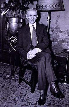 nicola tesla   Nikola Tesla 79th Birthday - nikola-tesla Photo