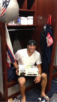 Tebow and Tivo. Man he is good looking!