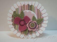 Carla Bazhenow - Scallop Circle Card