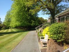 Armathwaite Hall Country House Hotel and Spa - borders and lawn