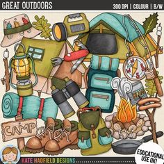 Camping Clip Art for