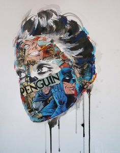 Gcse Art Ideas Artists Collage 61 Ideas For 2019 Arte Inspo, Kunst Inspo, Arte Pop, Arte Gcse, Disguise Art, Sandra Chevrier, Portrait Art, Portraits, Gcse Art Sketchbook
