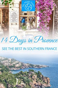 Planning a trip to Southern Provence in France? Here's my best experience of the Provence and the French Riviera! The two-week itinerary covers some of the best places in thearea. | southern france itinerary | southern provence itinerary | french riviera itinerary | france road trip | provence vacation | trip to provence | things to do in southern france | places to visit in the south of france | what to see in southern France #southernprovenceitinerary #franceroadtrip #frenchriviera France Europe, South Of France, France Travel, Provence, French Riviera, Vacation Trips, Travel Guides, Trip Planning, The Good Place