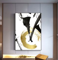 Abstract Gold Foil Print Black And Gold Modern Wall Art - Abstract Gold Foil Print Black And Gold Modern Wall Art Printable Bedroom Print Set Instant Down More Information Find This Pin And More On Products By Etsy Modern Art Paintings, Modern Wall Art, Portrait Paintings, Ouvrages D'art, Office Art, Abstract Wall Art, Geometric Painting, Painting Abstract, Oil Painting On Canvas