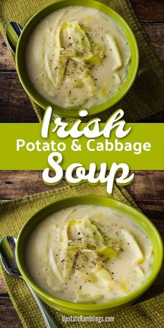 Whole30 Soup Recipes, Healthy Soup Recipes, Cooking Recipes, Creamy Soup Recipes, Fall Soup Recipes, Rice Recipes, Irish Potato Soup, Irish Potatoes, Gastronomia