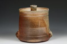 Wood Fired Jar by Anthony L. Millette Anthony605 on Etsy, $60.00