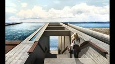 """wetheurban: """" CASA BRUTALE, OPA Designed by Holland- and Rhodes-based architects OPA (Open Platform for Architecture), this one-of-a-kind holiday villa has been proposed for construction in a cliff. Contemporary Architecture, Architecture Design, Concrete Architecture, Minimalist Architecture, Amazing Architecture, Crazy Home, Cliff House, House Built, Pool Houses"""