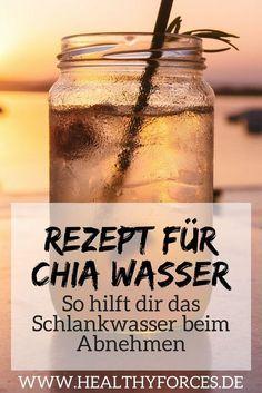 Abnehmen mit Chia Wasser: Was vielleicht ungewöhnlich klingt ist einfach und effektiv. Hier findest du ein simples Rezept mit Zitrone, das du schnell zubereiten kannst.