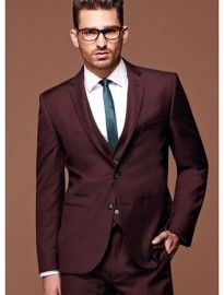 Burgundy Suit Jacket Mens, Dark Red Suit, Suit Fashion, Mens Fashion, Blazer For Boys, Groom Style, Mens Suits, Fitness Fashion, Rowan