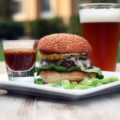 burger and beer. doesn't get any better