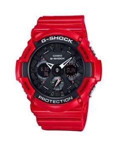 d3fa6be3a38 G-Shock Mens Rescue Red Gulfmaster G-Shock Watch Relógios G Shock